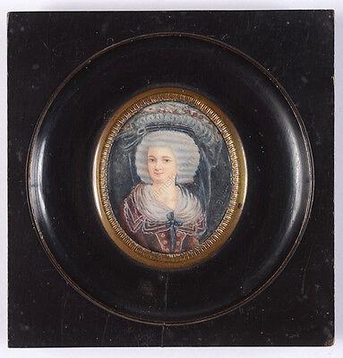 "Bodini (18th-century Italian artist) ""Portrait of a young fashionable lady"""