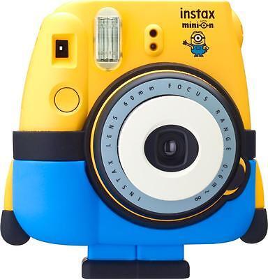 Fujifilm - Minion instax mini 8 Instant Film Camera