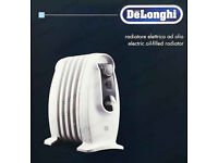 NEW DeLonghi Nano Electric Oil-Filled Radiator TRNS0505M with Room Thermostat