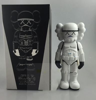 Kaws Star War Stormtrooper 25cm Action Figure With Original Box Toy New Arrival