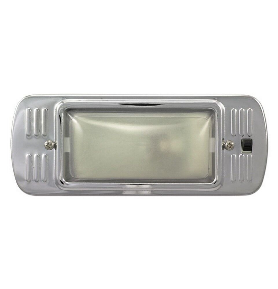 Chevy GMC Truck Polished LED Dome Light 1947 1948 1949 1950 1951 1952 1953 1954