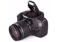 Canon EOS 1200D Digital SLR Camera with EF-S 18-55 mm f/3.5-5.6 III Lens - £200