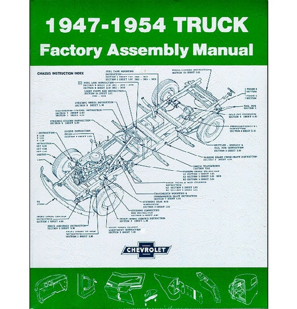 1947-54 Chevy Truck Factory Assembly Manual