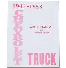 1947 1948 1949 1950 1951 1952 1953 Chevy Truck Wiring ...