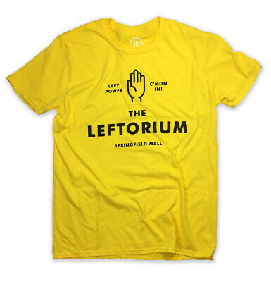 The Leftorium T-Shirt! LEFT POWER Ned Flanders inspired tee. springfield (Spring Field Mall)