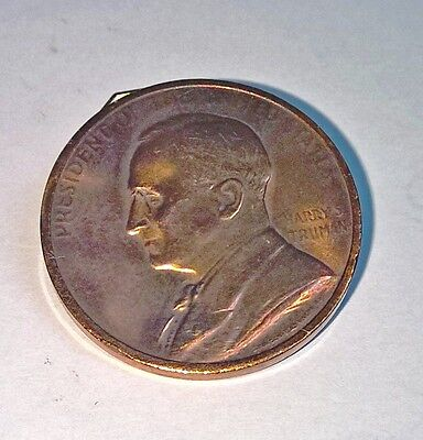 President Harry Truman 2nd Innaugaration Medal Bronze or Copper