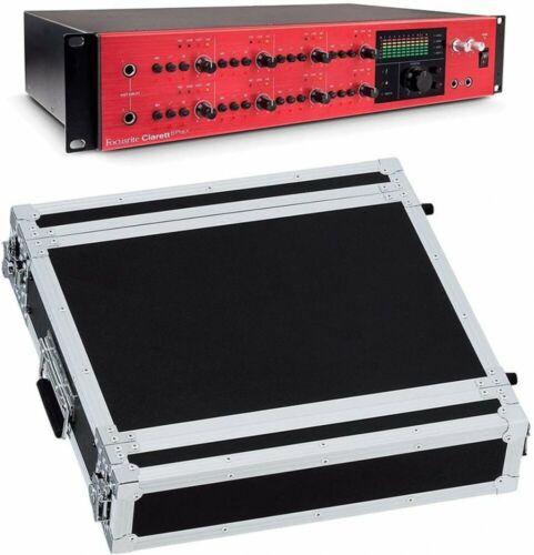 new clarett8prex 2uca audio interface 2u rack