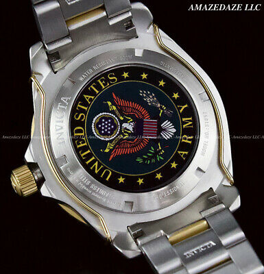 Invicta Men's 47mm US. ARMY GRAND DIVER Automatic Stainless Steel 300M Watch !!