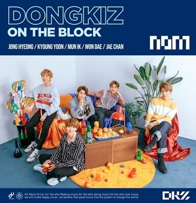 DONGKIZ 1st Single Album [DONGKIZ ON THE BLOCK] CD+Photobook+2p Photocard Sealed