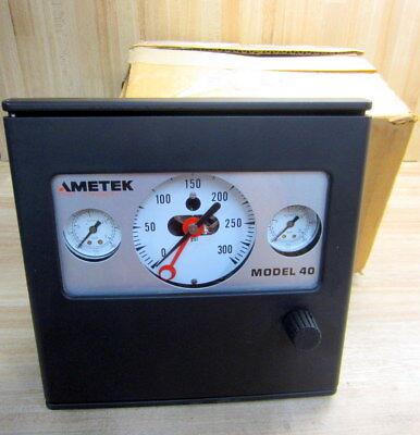 Ametek Model 40 Pneumatic Controller 0-300 Psi