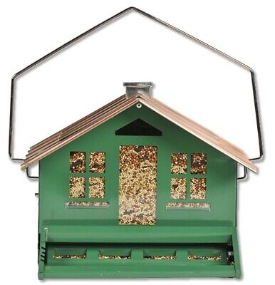 Perky Pet 339 Squirrel-Be-Gone II Home Style Wild Bird Feeder, 12 Lbs (Perky Pet Squirrel)