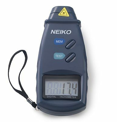 Digital Laser Photo Non Contact Tachometer Meter Tester 99,999 RPM