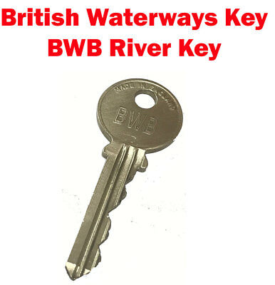 British Waterways Key - BWB River Key - CRT Key - Canal Key - Cut by Locksmiths