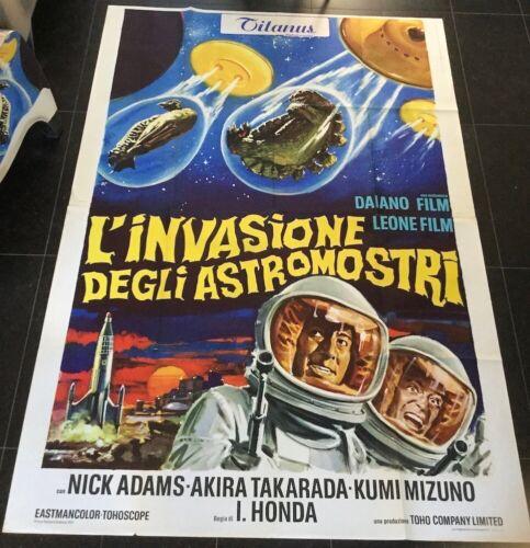 INVASION OF ASTRO-MONSTER (1965) ISHIRO HONDA - Italian 55x78