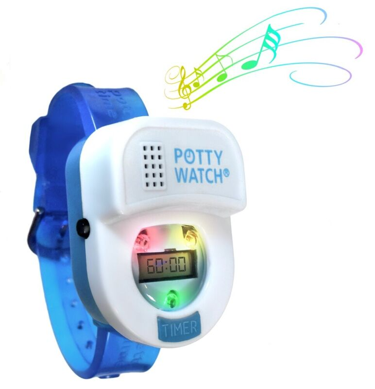 Potty Time Watch Toddler Toilet Training Aid Reminder Timer ~ Blue
