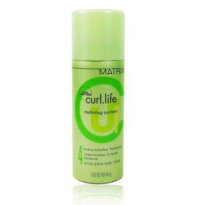 Matrix Curl Life Defining System Hairspray 3 oz ( (Defining System)