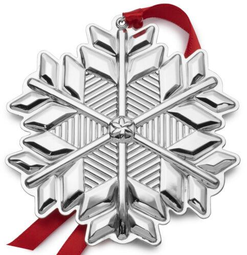 Gorham Annual Sterling Snowflake Ornament 2017 NIB
