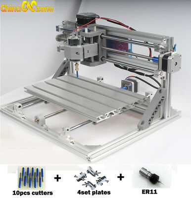 3018 Cnc Machine Router 3axis Engraving Pcb Wood Carving Diy Milling Kit