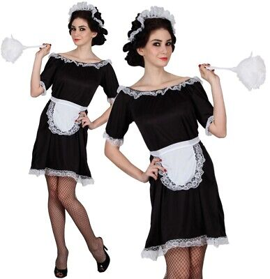 Black White fancy dress up costume Womens Valentines 18 20 (Valentines Kostüme)
