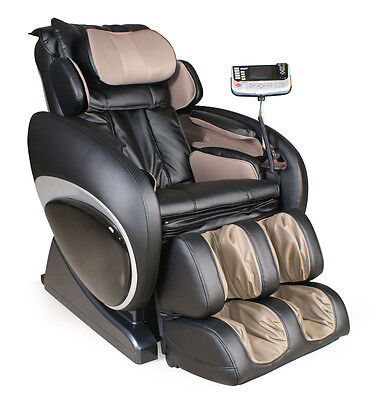 Osaki OS-4000 Black Zero Gravity Massage Chair Recliner + 3YR In-Home Warranty Black Home Massage Chairs