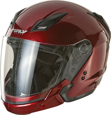 - FLY Tourist Modular Motorcycle Helmet (Candy Red) Choose Size