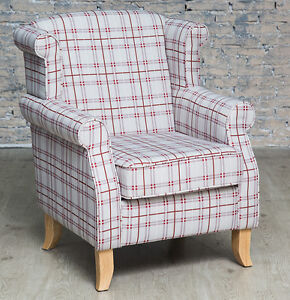wing armchairs living room wing back armchair ebay 22163 | $ 35