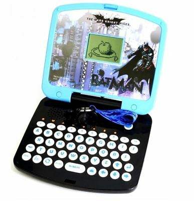 BATMAN ELECTRONIC JUNIOR LAPTOP GAME INTERACTIVE EDUCATIONAL ACTIVITY TOY CASE
