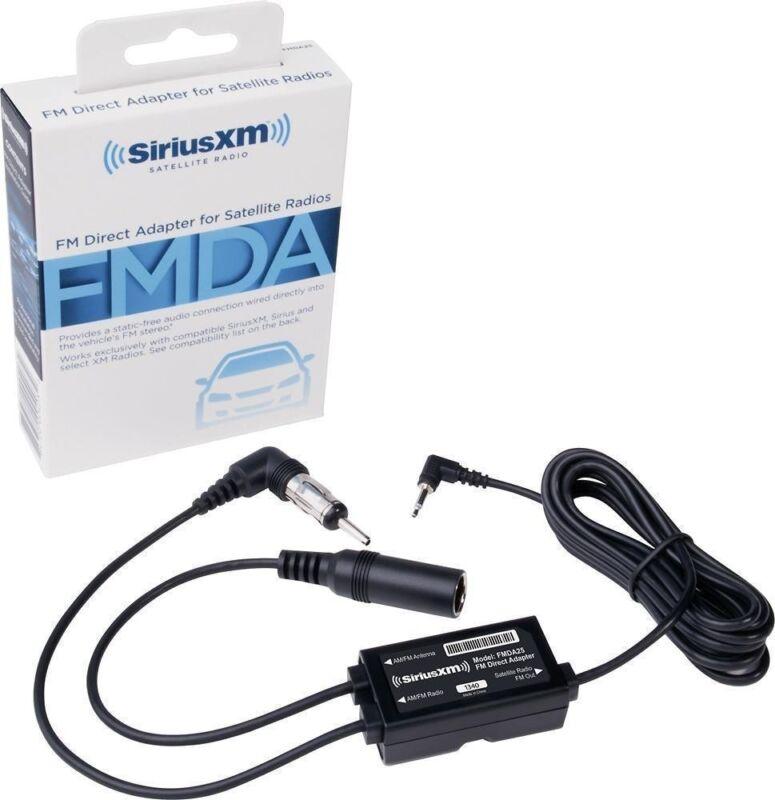 SiriusXM - FM Direct Adapter - Black