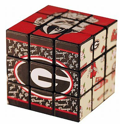 Georgia Bulldogs Toy Puzzle Cube FAST USA SHIPPING ()