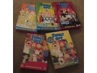 Family Guy DVDs Series 4-8