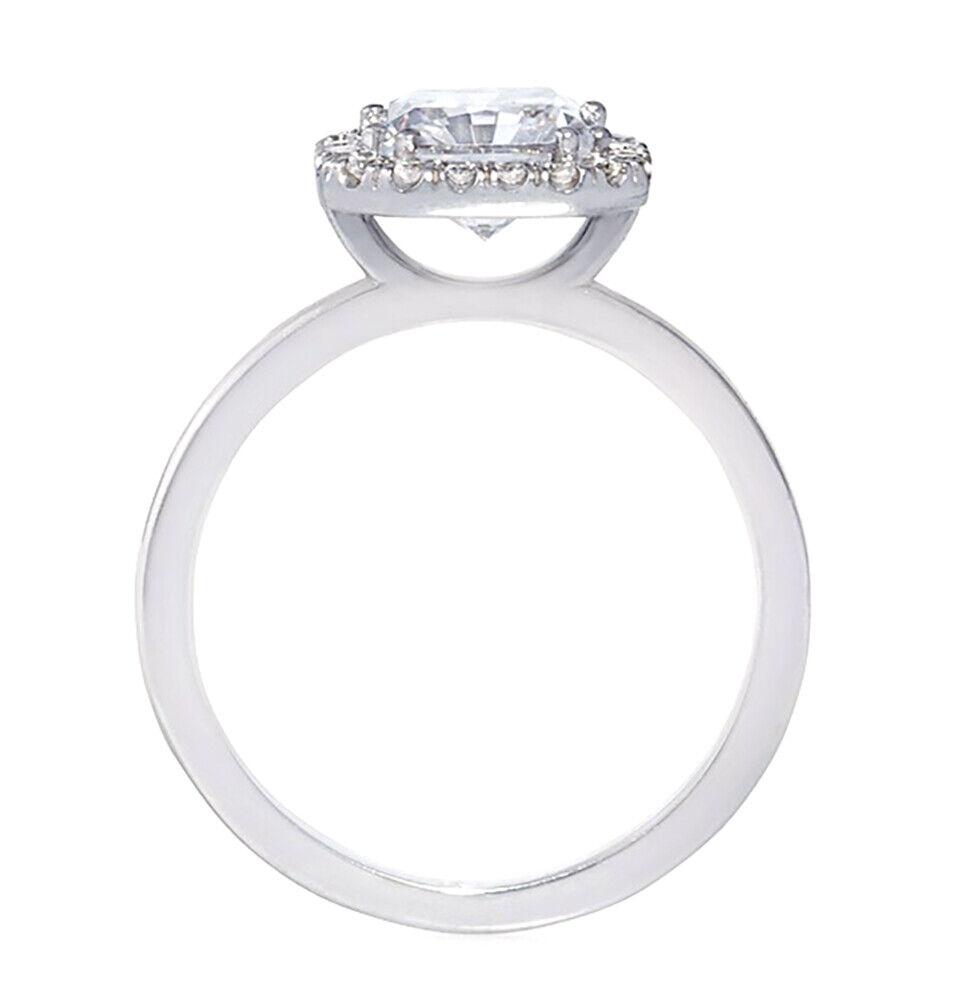 GIA Certified Diamond Engagement Ring 0.81 carat Cushion Cut 14k Gold D/VS2 1