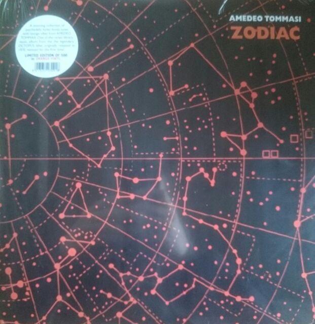 Amedeo Tommasi – Zodiac LP Dagored red vinyl reissue ltd orange vinyl Octopus