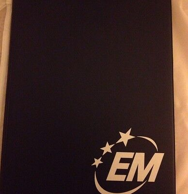 Emergency Management Portfolio With Notepad Included