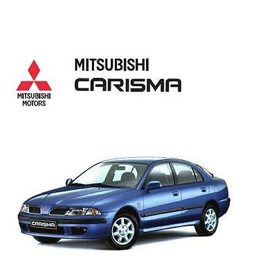 Mitsubish Carisma Workshop Manual 1995-2004 on CD