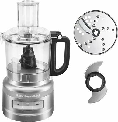 KitchenAid - 2-Speed Food Processor - Contour Silver