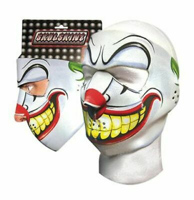 Scary Joker Costume (Joker Jester Clown Scary Capsmith Full Face Neoprene Mask Biker Ski)