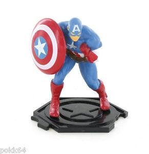 Marvel Comics figurine Avengers Assemble Captain America 9 cm Y96025