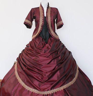 Biedermeierkleid Südstaatenkleid Krinolinenkleid Westernkleid Sissikleid online kaufen