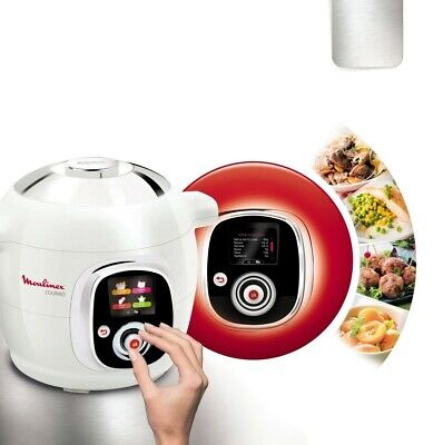 Pentola Elettrica Multicooker 6 Litri 1200W Timer Moulinex CE706121 Cookeo IT