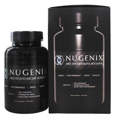 Nugenix - Free Testosterone Booster - 90 Capsules