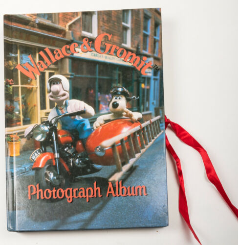 Wallace & Gromit Claymation Photograph Album Frames (1996, Hardcover)