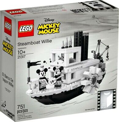 Minnie Mouse Ideas (LEGO Ideas Steamboat Willie 21317 Mickey Mouse Building)