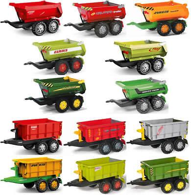 rolly toys Container Halfpipe Trailer Anhänger John Deere, Deutz, Joskin (John Deere Container)