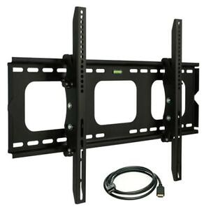 NEW Mount-It! Heavy Duty Tilt TV Wall Mount Bracket, Low Profile Flat Screen TV Mount with 175 lb Capacity, Fits 32 ...