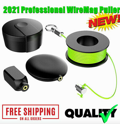 2021 Wiremag Puller Magnetic Snap Wire Guider Convenient Wire Cable Professional