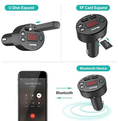 New Bluetooth Car Kit Wireless FM Transmitter Dual USB Charger Audio MP3 Player Car Audio Fm Transmitter
