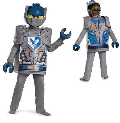Lego Knight Costume (Boys LEGO Deluxe Nexo Knights Clay)