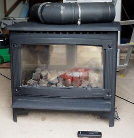 GAZCO Large Marlborough Gas Stove/Fire with Remote Control