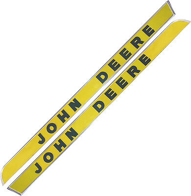 Ar28048 Side Molding Set Raised Letter For John Deere 1010 2010 3010 Tractors