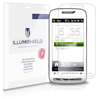 iLLumiShield Anti-Bubble/Print Screen Protector 3x for HTC Touch Pro 2 T-Mobile Htc Touch Pro Mobile